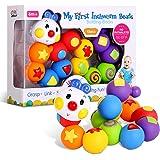 Bemixc 赤ちゃん おもちゃ 0歳1歳 幼児 ベビー 誕生日 女の子 男の子 新生児 出産祝い 積み木 13pcs