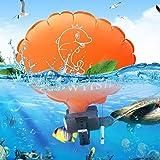 SAKATAS 携帯用浮遊物のリストバンド水浮力の援助のブレスレットの反溺れ膨脹可能な抜く 膨張式救命具 ポータブル ウ…