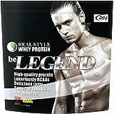 [Amazon限定ブランド] Real Nutrition ビーレジェンド ホエイプロテイン ナチュラル【1kg】(WPC)グラスフェッドホエイ