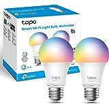 TP-Link Tapo Smart Bulb, Smart WiFi LED Light, E27, 8.7W, Compatible with Alexa(Echo and Echo Dot), Google Home, Colour-Chang