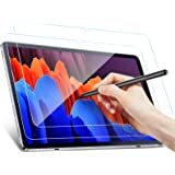 [2 Pack]Benazcap Screen Protector Compatible with Samsung Galaxy Tab S7 FE 2021/Galaxy Tab S7 Plus 12.4 inch,Tempered Glass/A
