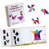 SEALEN タングラム パズルゲーム ジグソーパズル 旅行ゲームパズル 動物人オブジェクト構築 360質問 知恵の板…