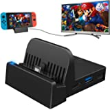 Dock for Nintendo Switch, Switch Charging Dock 4K HDMI TV Adapter Switch Docking Station Charger Dock Set Good Replacement fo