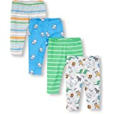 The Children's Place Baby Boys 4 Pack Zoo Party Pants