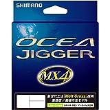 シマノ(SHIMANO) PEライン オシア ジガー MX4 600m 1.0号~4.0号 ライムグリーン PL-O94P 釣り糸