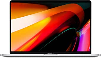 New Apple MacBook Pro (16インチ,, 16GB RAM, 512GBストレージ, 2.6GHz Intel Core i7プロセッサ) - シルバー