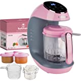 Baby Food Maker Package - The Fastest Baby Food Maker, Steamer, Mixer, Purer, Blender, Chopper, Auto Self Cleaning, Sterilize