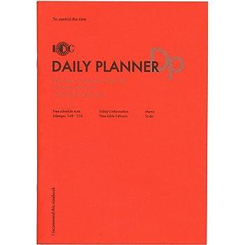 A5 ファンクションノート DAILY PLANNER (デイリープランナー) NOTE-A5F-0