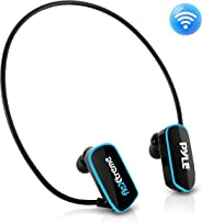 Pyle Upgraded Waterproof MP3 Player - V2 Flextreme Sports Wearable Headset Music Player 8GB Underwater Swimming Jogging Gym E