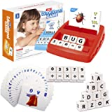 Matching Letter and Number Games for Kids Sight Words Flash Cards Preschool Learning Educational Toys for Boys Girls Age 3-8