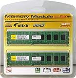 CFD販売 Elixir デスクトップ用 DDR3メモリー 8GB (4GB x 2枚) PC3-10600 CL9 W3U1333Q-4G