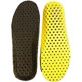 Heal foot 軽量穴空き加工 通気性抜群の衝撃吸収インソール 適度な固さ ソフトクッション 低反発 防臭 ランニング ウォーキング スポーツ 立ち仕事 疲労緩和サポート 底の薄い靴などに