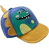 OZ SMART Toddler Dinosaur Sun Hat/Baseball Cap, UPF 50 + UV Protection Adjustable Size for Baby and Kids