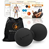 5BILLION Peanut Massage Ball - Double Lacrosse Massage Ball & Mobility Ball for Physical Therapy - Deep Tissue Massage Tool f