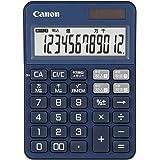 Canon カラフル電卓 抗菌仕様 KS-125WUC インディゴブルー (12桁/ミニ卓上サイズ/W税機能搭載) KS-125WUC-BL
