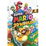 Pyramid America Super Mario 3D World Nintendo Laminated Dry Erase Sign Poster 12x18