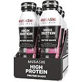 Musashi Strawberry High Protein Shake, 6 x 375ml