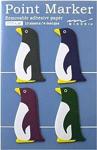 付せん紙 ペンギン柄