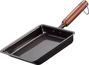 和平フレイズ 鉄 卵焼きフライパン 18×18cm 日本製 燕三 IH対応 EM-8721
