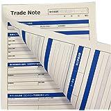 FX・株式投資どちらでも使えるトレードノート(日誌・日記)A4サイズ100枚/2冊