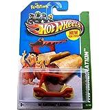 2013 Hot Wheels Hw Imagination - The Flintstones Flintmobile