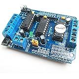 HiLetgo L293D モータ ドライバー拡張ボード 基板モーター モータ制御シールド [並行輸入品]