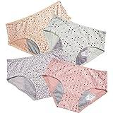Teen Girls Period Panties Tweens Menstrual Leak Proof Underwear Women's Postpartum Briefs