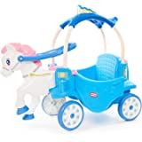 Little Tikes 650970M Princess Horse & Carriage - Frosty Blue Ride-On