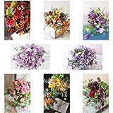 ポストカード 花の写真 8枚(8種)+おまけ1枚 セット 花屋オリジナル 花 ブーケ 花束 絵葉書 アレンジメント PO…