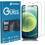 TERSELY Screen Protector for iPhone 12 Pro/iPhone 12 (6.1 inch), [2 Pack] 9H Case Friendly Tempered Glass Screen Protectors A