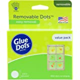 Glue Dots Removable Dots Value Pack Sheets, 8388, Clear, 1/2 Inch