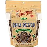 Bob's Red Mill Gluten Free Organic Chia Seeds, 12Oz