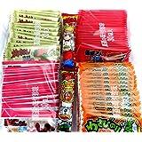 菓道 蒲焼さん太郎(30枚)+ 焼肉さん太郎(30枚) + わさびのり太郎(30枚)+ 酢だこさん太郎(30枚) 人気4種セット(限定うまい棒2本付)