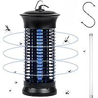 AUGYMER 電撃殺虫器 捕虫器 コバエ取り機 電気蚊取り器 6W 省エネ 蚊取り 虫取り機 虫取り器 効果抜群 薬剤…