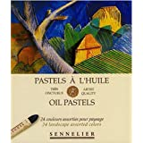 Sennelier Artists Oil Pastels - Set of 24 x Landscape Colours