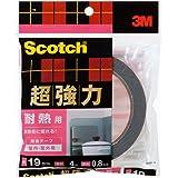 3M スコッチ 超強力両面テープ 耐熱用 19mm×4m SHR-19