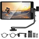 Neewer FW568 5.5-Inch Camera Field Monitor Full HD 1920x1080 IPS Screen Support 4K HDMI DC Input Output Histogram with 2600mA