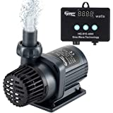 hygger 1060GPH Quiet Submersible and External 24V Water Pump, with Controller (30%-100% Settings), Powerful Return Pump for F