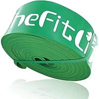 TheFitLife トレーニングチューブ 筋トレチューブ 懸垂チューブ