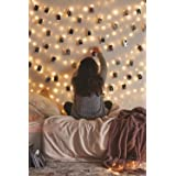 String Light with Clips, Photo Clip String Lights, 33Ft, 100 LED Fairy String Lights with 50 Clear Clips, 8 Modes USB Powered