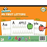 Channie's My First Letters, Easy to Trace, Write, Color, and Learn Alphabet Practice Handwriting & Printing Workbook, 80 Page