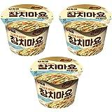 [農心 / Nongshim] ツナマヨビビン麺(カップ麺) 119g×3個セット / 韓国食品 / 韓国ラーメン (海外直送)