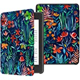 TERSELY Slimshell Case Cover for All-New Kindle Paperwhite 10th Generation-2018 (Model No. PQ94WIF), Smart Shell Cover with A