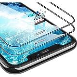 【Humixx】2021最新型 For iPhone 11 / iPhone XR ガラスフィルム 防塵 2枚セット ガイド枠付き 日本旭硝子製 全面保護 強化ガラス 最高硬度10H 透過率99.9% 気泡防止 指紋防止 アイフォン11/XR 用 フ