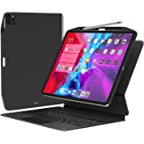 SwitchEasy CoverBuddy [2021年アップグレード] iPad Pro 11インチ 2020 (第2世代) & 2018年用 ペンシルホルダー付き [Apple Pencil充電対応] マジックキーボード、スマートフォリオに対応