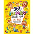 365 Jumbo Activity Book for Kids Ages 4-8: Over 365 Fun Activities Workbook Game For Everyday Learning, Coloring, Dot to Dot,
