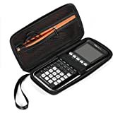 BOVKE Hard Graphing Calculator Carrying Case for Texas Instruments TI-84 Plus CE/TI-83 Plus CE/Casio fx-9750GII, Extra Zipped
