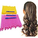 """Orgrimmar Magic Hair Curlers Curls Styling Kit, DIY No Heat Hair Curlers for Extra Long Hair up to 22"""" (55 cm) (30PCS 55cm/21"""