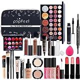 Makeup Kit for Women Full Kit, 26PCS Multi-Purpose Makeup Kit All-in-One Makeup Gift Set Makeup Essential Starter Kit, Compac