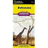 National Geographic Botswana Adventure Map (National Geograp…